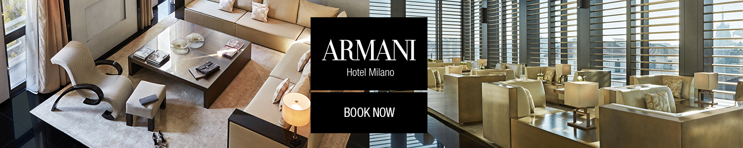 ARMANI - Banner Header Content