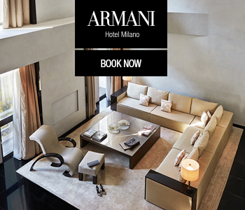 ARMANI BAnner home page Mobile