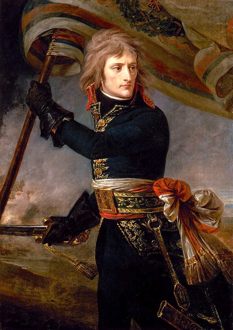 Bonaparte on the bridge Arcole