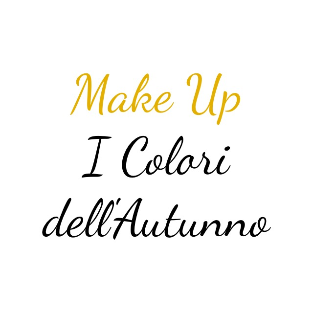 Make Up Autunno
