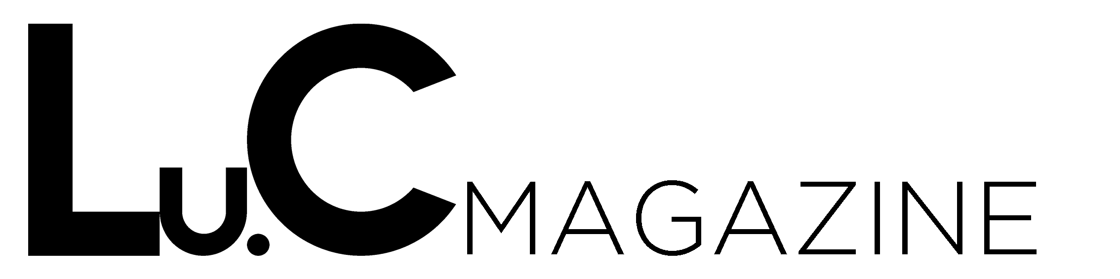 luc magazine logo 2018 b black